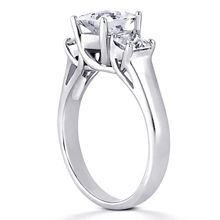 Engagement ring with Side Stones: (/images/Items/ENR2406_Angle.jpg) Gold Platinum Diamond Ring ,engagement rings,diamond engagement rings