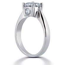 Solitaire Engagement Ring: (/images/Items/ENR284-1_Angle.jpg) Gold Platinum Diamond Ring ,engagement rings,diamond engagement rings