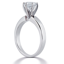 Solitaire Engagement Ring: (/images/Items/ENR312_Angle.jpg) Gold Platinum Diamond Ring ,engagement rings,diamond engagement rings
