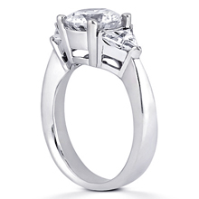 Engagement ring with Side Stones: (/images/Items/ENR381_Angle.jpg) Gold Platinum Diamond Ring ,engagement rings,diamond engagement rings