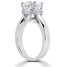 Solitaire Engagement Ring: (/images/Items/ENR6063_Angle.jpg) Gold Platinum Diamond Ring ,engagement rings,diamond engagement rings