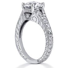 Split-Shank Engagement Ring: (/images/Items/ENR6789_Angle.jpg) Gold Platinum Diamond Ring ,engagement rings,diamond engagement rings