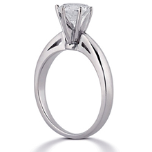 Solitaire Engagement Ring: (/images/Items/ENR678_Angle.jpg) Gold Platinum Diamond Ring ,engagement rings,diamond engagement rings