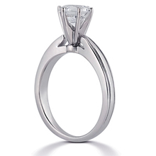 Solitaire Engagement Ring: (/images/Items/ENR681_Angle.jpg) Gold Platinum Diamond Ring ,engagement rings,diamond engagement rings