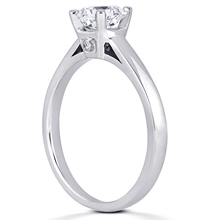 Solitaire Engagement Ring: (/images/Items/ENR7880_Angle.jpg) Gold Platinum Diamond Ring ,engagement rings,diamond engagement rings