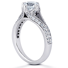 Split-Shank Engagement Ring: (/images/Items/ENR8207_Angle.jpg) Gold Platinum Diamond Ring ,engagement rings,diamond engagement rings