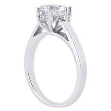 Solitaire Engagement Ring: (/images/Items/ENR8932_Angle.jpg) Gold Platinum Diamond Ring ,engagement rings,diamond engagement rings