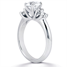 Engagement ring with Side Stones: (/images/Items/ENS1135-A_Angle.jpg) Gold Platinum Diamond Ring ,engagement rings,diamond engagement rings