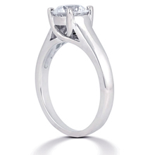 Solitaire Engagement Ring: (/images/Items/ENS1406-A_Angle.jpg) Gold Platinum Diamond Ring ,engagement rings,diamond engagement rings