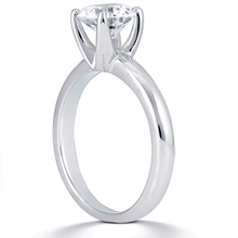 Solitaire Engagement Ring: (/images/Items/ENS1486-A_Angle.jpg) Gold Platinum Diamond Ring ,engagement rings,diamond engagement rings