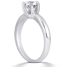 Solitaire Engagement Ring: (/images/Items/ENS1549-A_Angle.jpg) Gold Platinum Diamond Ring ,engagement rings,diamond engagement rings