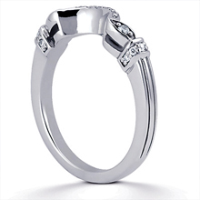Wedding Ring: (/images/Items/ENS1598-B_Angle.jpg) Gold Platinum Diamond Ring ,engagement rings,diamond engagement rings