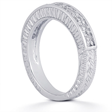 Wedding Ring: (/images/Items/ENS356-B_Angle.jpg) Gold Platinum Diamond Ring ,engagement rings,diamond engagement rings