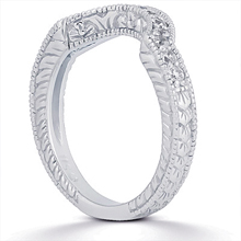 Wedding Ring: (/images/Items/ENS434-B_Angle.jpg) Gold Platinum Diamond Ring ,engagement rings,diamond engagement rings