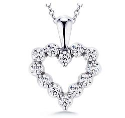 Diamond pendants necklaces from diamond ideals pendants mozeypictures Choice Image